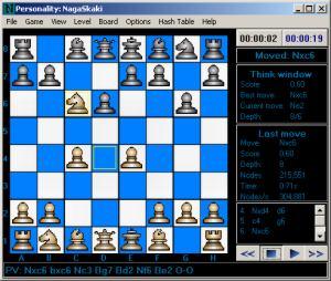 Screen capture of NagaSkaki 5.00